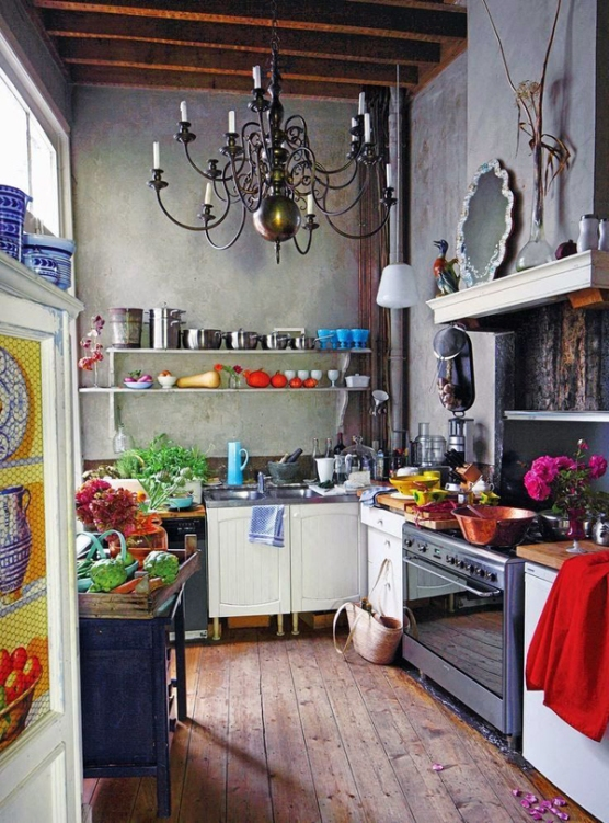 industrial-bohemian-kitchen-design