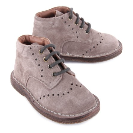 charlie-perforated-suede-ankle-boots-grey