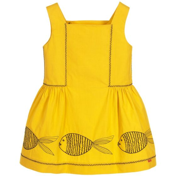 sonia-rykiel-paris-girls-yellow-cotton-dress-149848-0c506eaa1b6947ad80b551d6c55705d2a00ce3eb