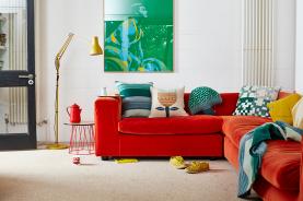 AW17-Homeware-Gareth-Hacker-Red-Sofa-and-Cushions-1_lores-1