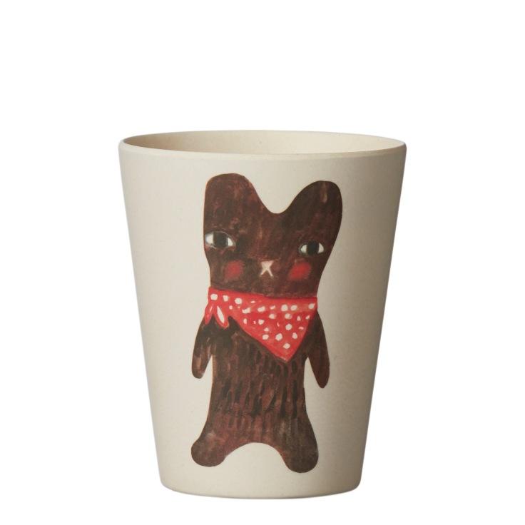 Bamboo-Fibre-Tableware-Bear-Cup
