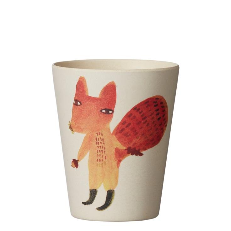 Bamboo-Fibre-Tableware-Squirrel-Cup