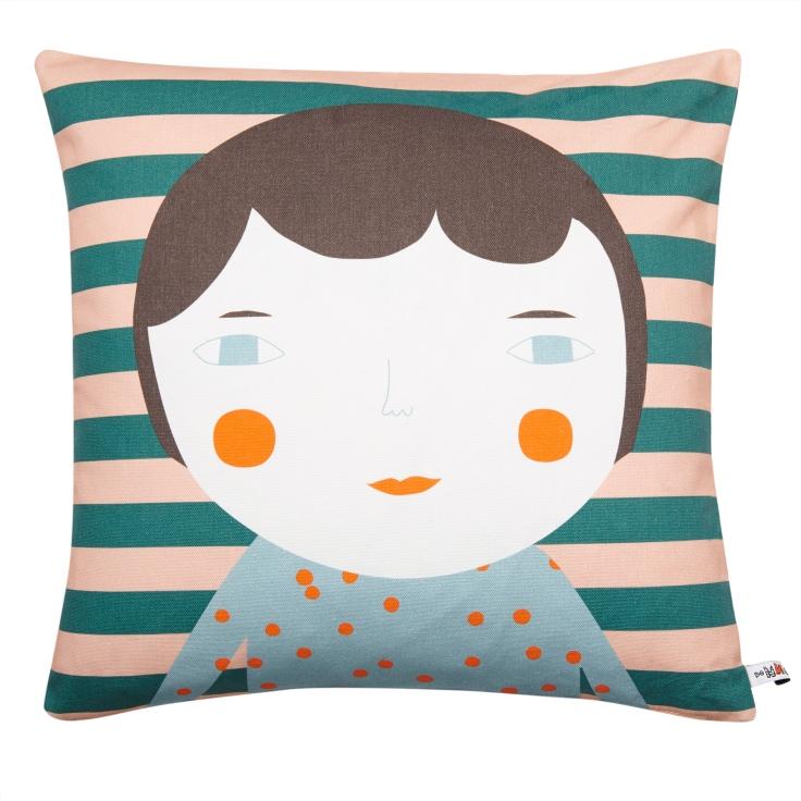 Cotton-Cushion-Elfie-Brown